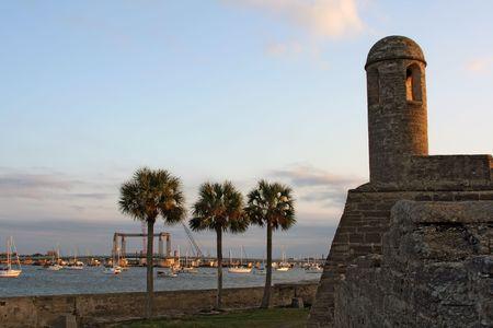 marcos: castillo de san marcos in st. augustine, florida
