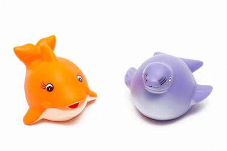 fish and seal toys Stock Photo - 2770076
