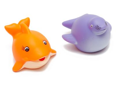 fish and seal toys Stock Photo - 2801100