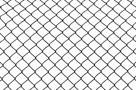 penitentiary: wired fence Illustration