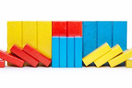 wooden bricks photo