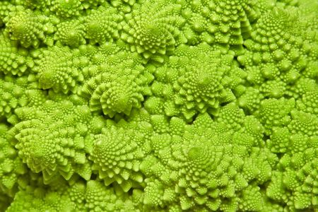 romanesco: cabbage romanesco background