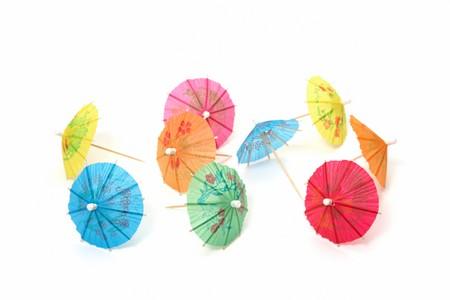 cocktail umbrellas photo