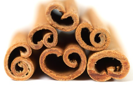 stack of cinnamon with shallow DOF Stock Photo - 4316492
