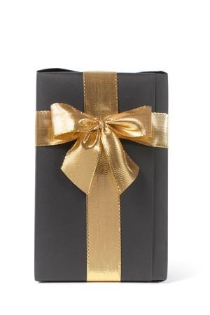 black gift photo
