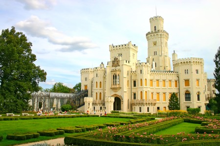 nad': bohemian castle Hluboka nad Vltavou