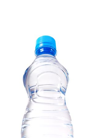view on the water bottle from below Stock Photo - 4594228