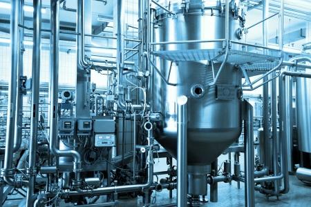 brouwerij: industriële achtergrond