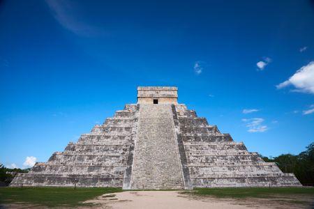 chichen itza: Chichen Itza, Mexico, one of the New Seven Wonders of the World
