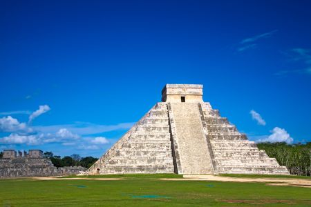 Chichen Itza, Mexico, one of the New Seven Wonders of the World Stock Photo - 5515794