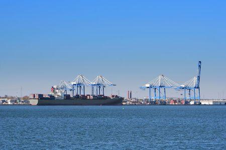 Port of Charleston, South Carolina, USA photo