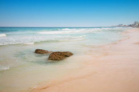 beach at Cancun, Mexico photo
