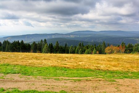autumn in Ore Mountains, Czech Republic photo
