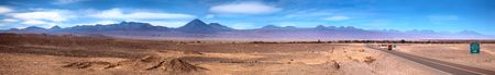 Panoramic view of San Pedro de Atacama, Chile Stock Photo - 8123137