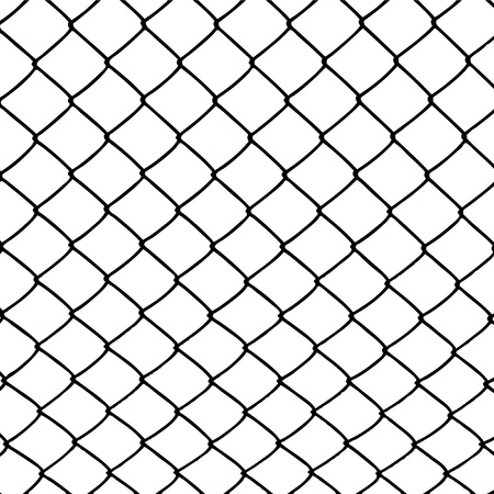 wire: wired fence Stock Photo