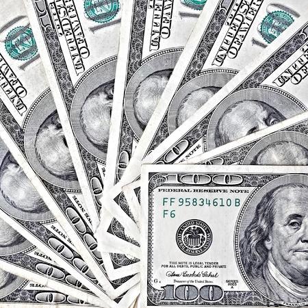 fantail: Fantail of hundred dollars