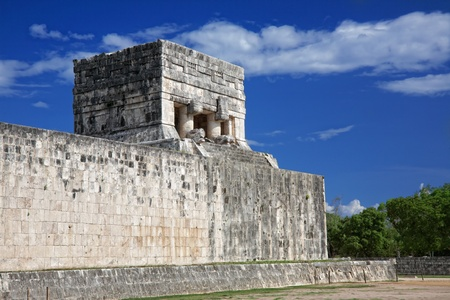 Temple of the Jaguar, Chichen Itza, Mexico photo