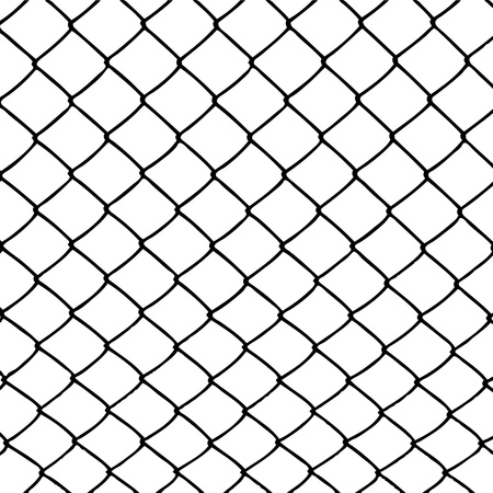wired fence Stock Vector - 9877681