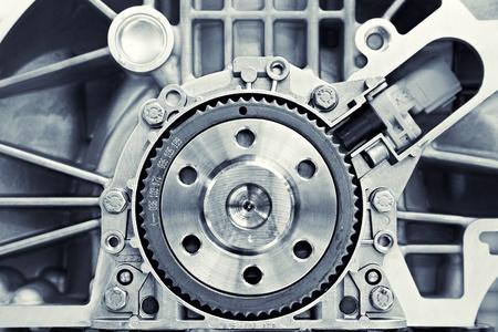 Getriebe im Auto-Motor Standard-Bild