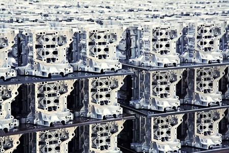 Pièces dans une usine automobile Banque d'images - 10906283