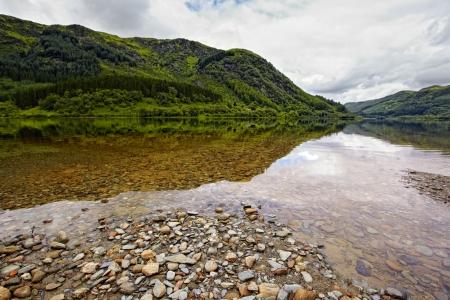loch: view on Loch Lubnaig, Scotland