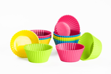 baking silicone cups for cupcakes or muffins
