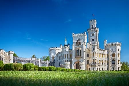 nad': bohemian castle Hluboka nad Vltavou, Czech Republic Editorial
