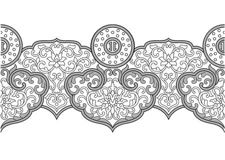 enamel: Cloisonne enamel pattern