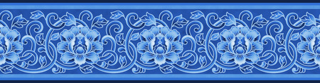 Traditional lace ornament pattern Banque d'images