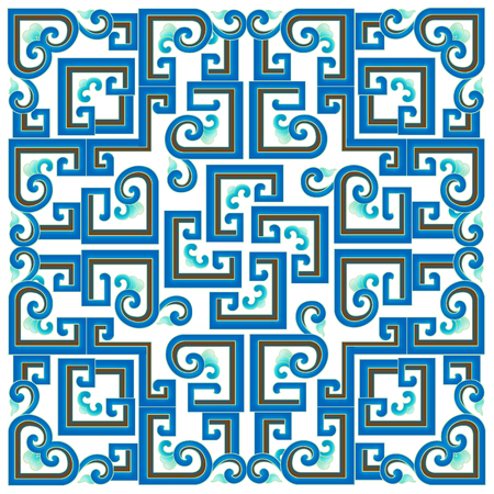 Blue and white background shading Banque d'images
