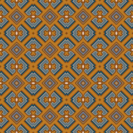 Seamless  traditional decorative shading pattern