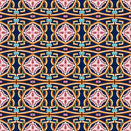 Colorful seamless continuous shading pattern 版權商用圖片