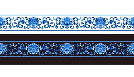 Traditional pattern art pattern