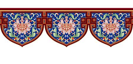 Vintage art deco pattern 版權商用圖片