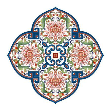 Traditional retro decorative pattern 版權商用圖片