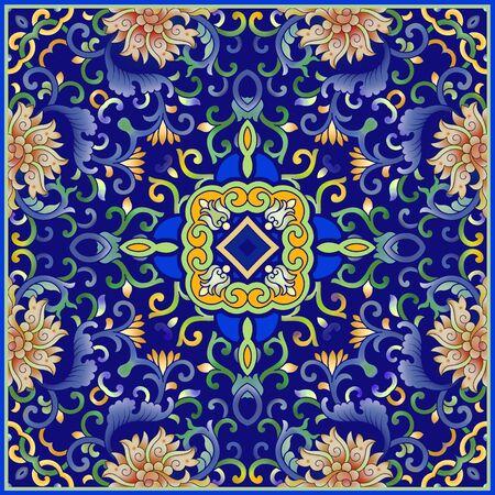 Traditional art pattern