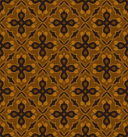 Seamless traditional pattern pattern