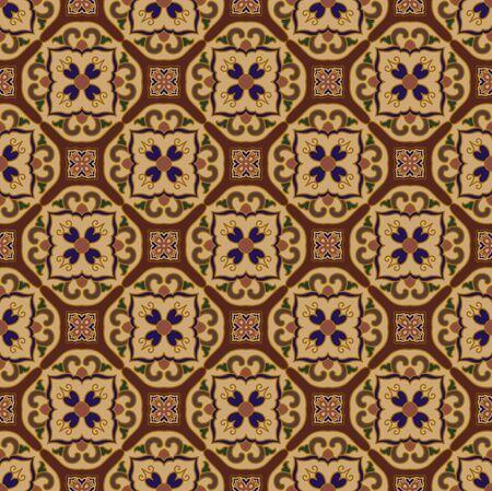 Seamless traditional pattern pattern background