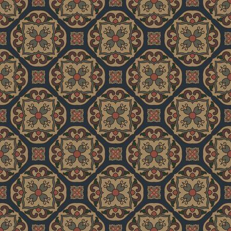 Seamless traditional pattern pattern 向量圖像