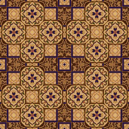Traditional pattern 版權商用圖片