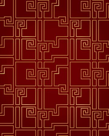 Traditional shading seamless pattern