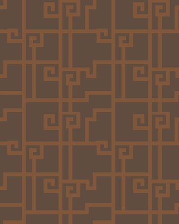 Traditional shading seamless pattern 向量圖像
