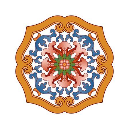 Traditional pattern 向量圖像