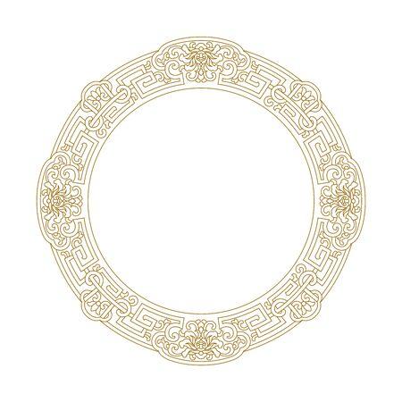 Traditional decorative border pattern