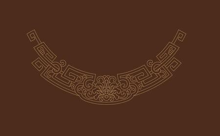 Line decorative lace