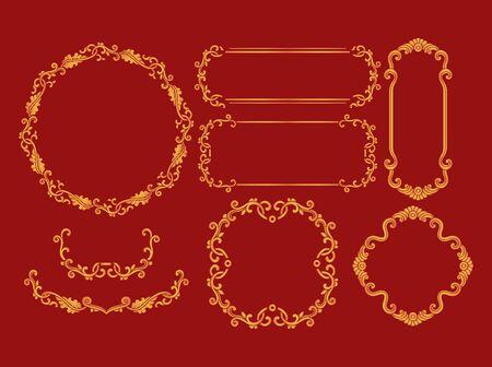 Traditional border pattern