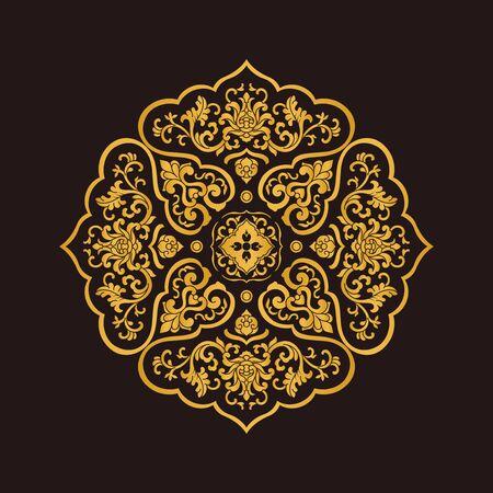 Traditional art pattern decorative pattern