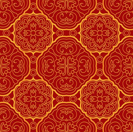 Seamless continuous shading pattern