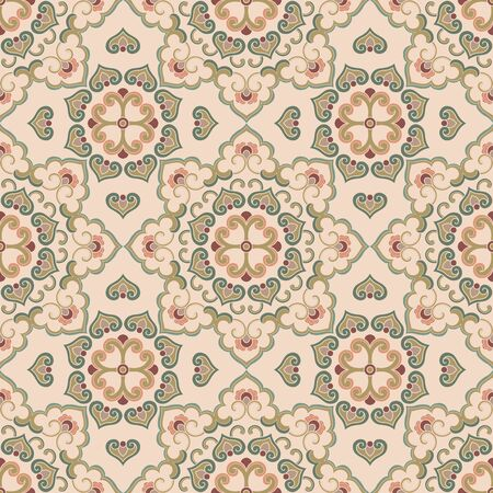Seamless traditional shading pattern