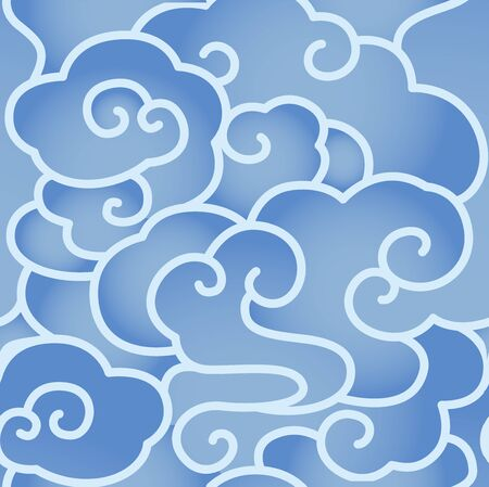 Seamless blue moire background shading
